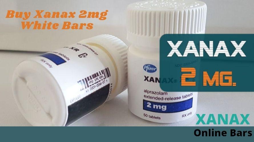 Buy Xanax 2mg | White Bars